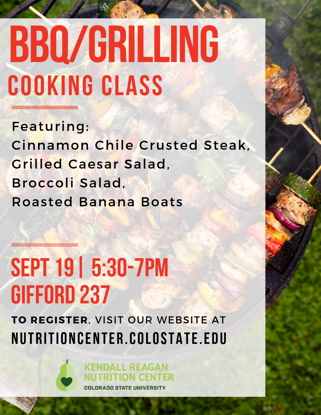 Picture of Poudre School District - BBQ/GRILLING Cooking Class - CLASS IS FULL!