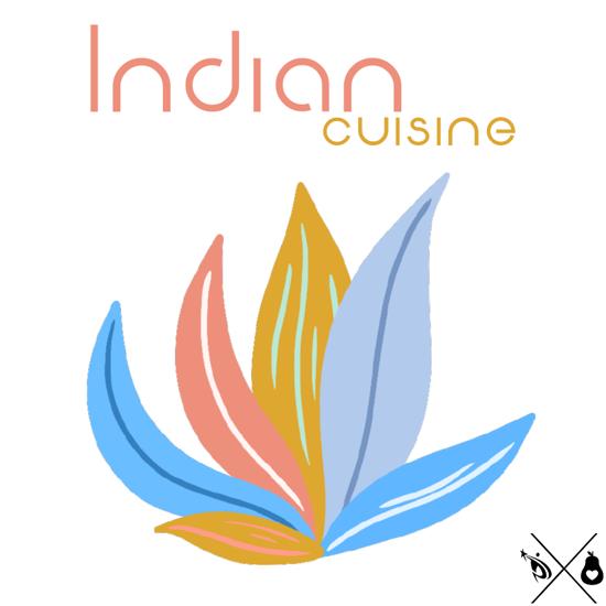 Indian cuisine design