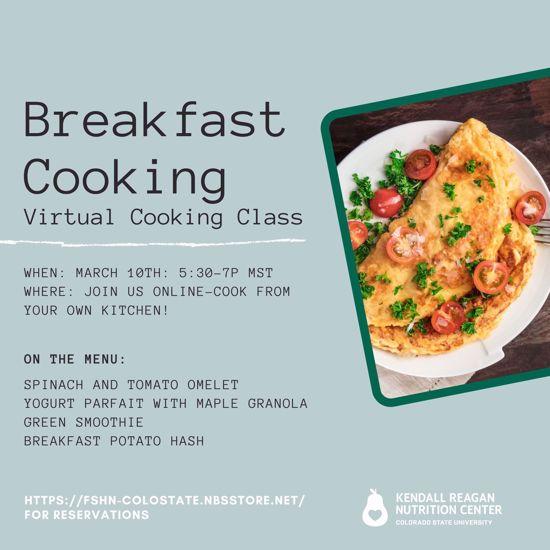 breakfast cooking menu